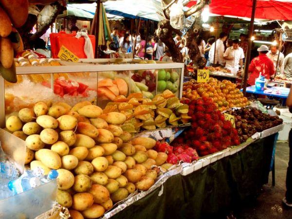 thaimaalaisia hedelmiä, Thaimaalainen tori