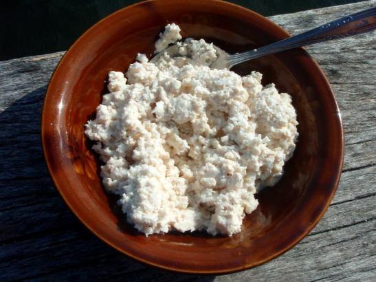 tofua ja kookosta