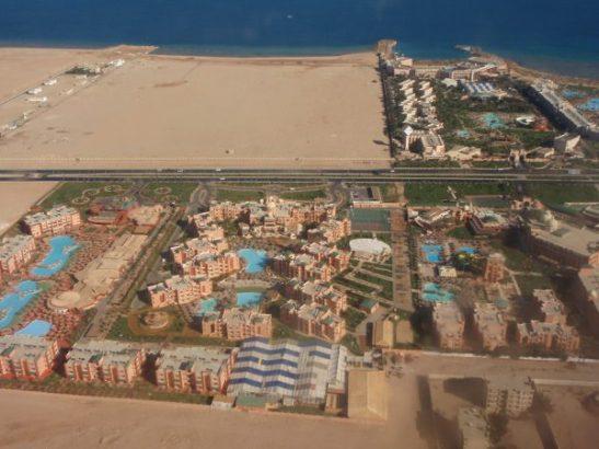 Hurghadan resortteja.