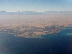 Hurghada ilmasta katsottuna.
