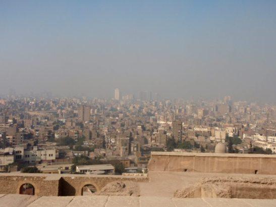 Näkymät Kairoon Citadelista.