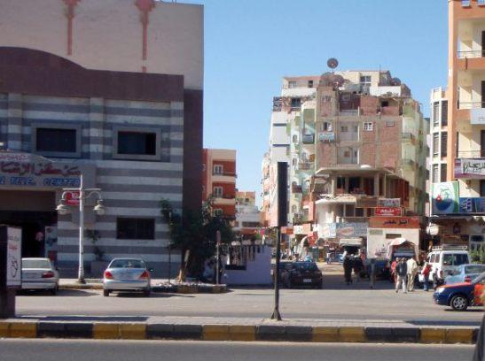 Hurghadan katuja.