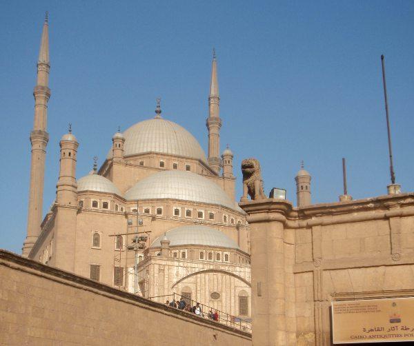 Muhammed Alin moskeija Kairon Citadelissa.
