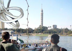 Niilin Kairon risteilyvene.