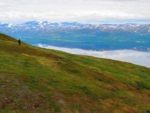 Näkymää Torniojärvelle.
