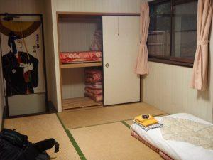 Huoneeni Fuji Hakone Guest Housessa.