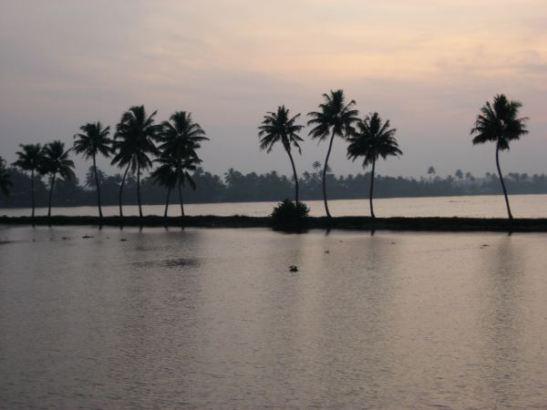 Ilta tuli backwatersille.