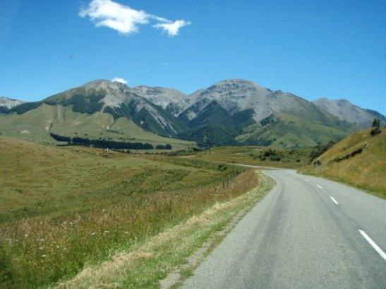 Eteläsaaren näkymiä joskus ennen Christchurchia.