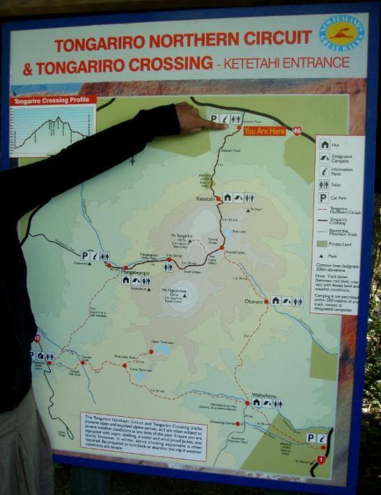 Kuvassa alueen kartta.