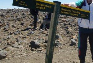 Reitti oli erittäin helppo seurata opasteiden ja lukuisten muiden kävelijöiden takia.