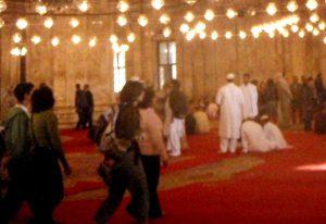 Muhamed Alin moskeijassa Kairossa.