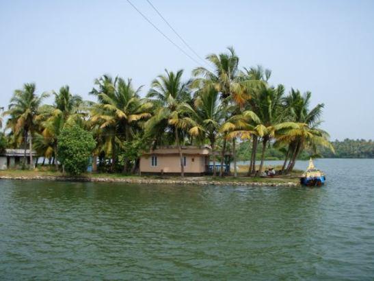 Niemi tai saari backwatersilla.