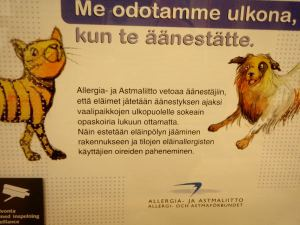 Allergia- ja astmaliitto jyrää.