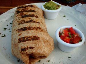 Burrito Meksikon Tulumissa.
