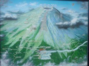 Fuji-vuoden kartta.