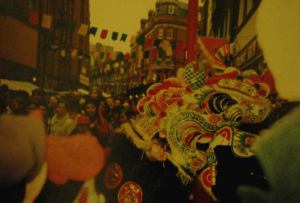 Kiinalainen uusivuosi Lontoossa vuonna 2000.