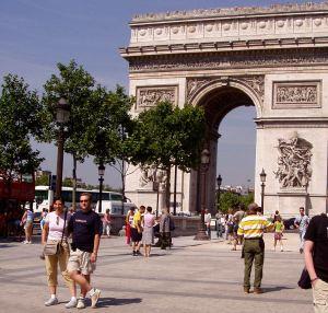 Pariisin Riemukaari.