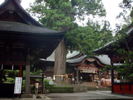 Sengenin temppelialue on ennen ollut aloituspiste.