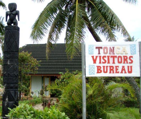 Tonga visitors bureau Nuku´alofassa.
