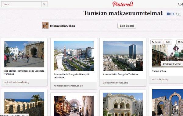 Boardini Pinteretissä: http://pinterest.com/reissausta/tunisian-matkasuunnitelmat/