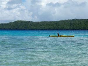 Melomassa Tongalla Tapana-saarelta käsin.