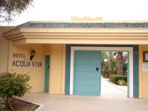 Acqua Viva- hotellin portti.