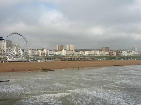 Brightonin rantaa.