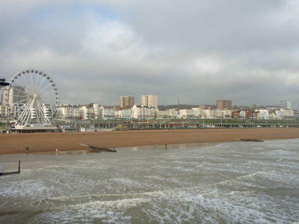 Brightonin rantaa.