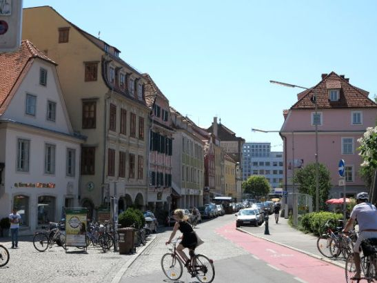 Kiva katu Grazin keskustassa.