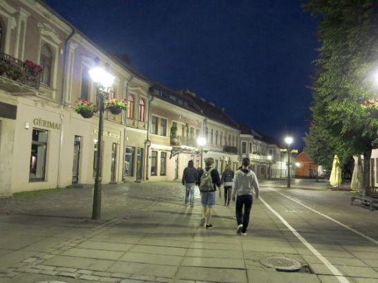 Kaunasin vanha kaupunki.