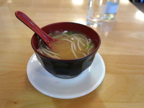 Misokeitto oli Osakassa alkupalana.