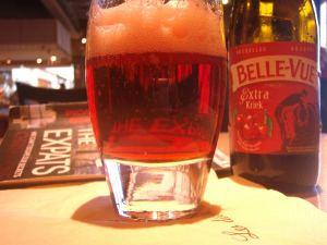 Bellevue extra kriek ei sisältänyt niin paljon alkoholia kuin monet muut belgialaisoluet, mutta siinä oli enemmän kirsikkaa.
