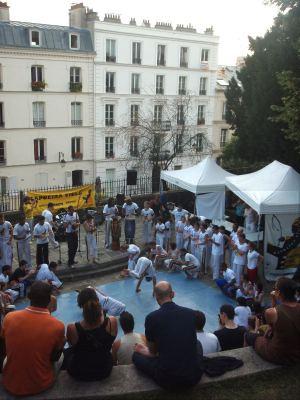 Montmartrella löysin capoeira jamit.