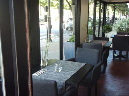 Gentle Gourmet Cafe sisältä.