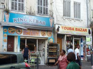 Hyvää falafelia sain King Kebabista.