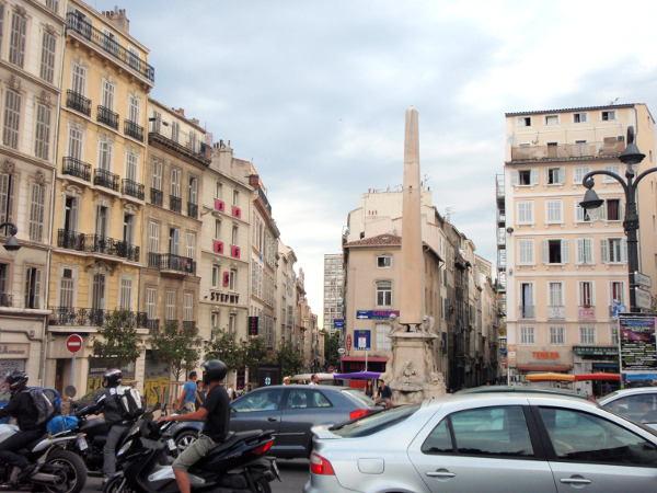 Marseillen katuja.
