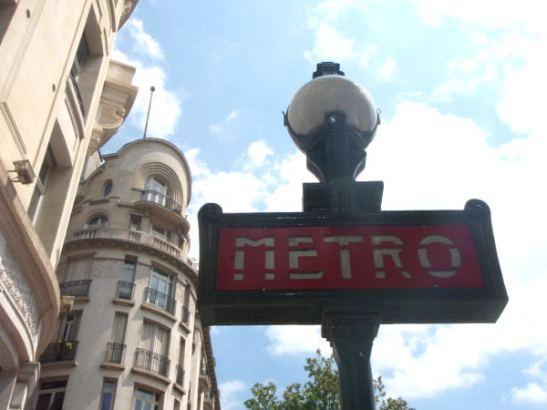 Pariisin metron kyltti