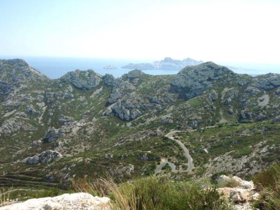Jotain saariakin näytti Sormioun lahden takana sijaitsevan.
