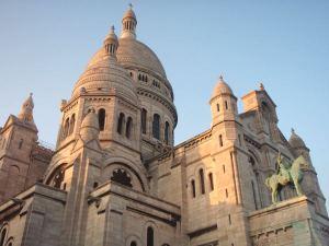 Sacre coeur -kirkko Pariisissa.