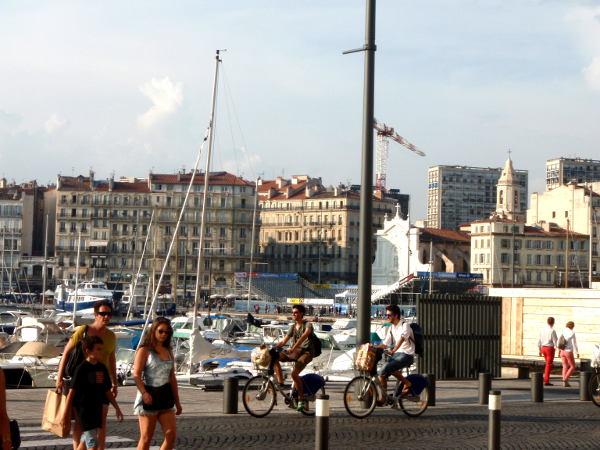 Marseillen vanha satama on kaupungin ydn.