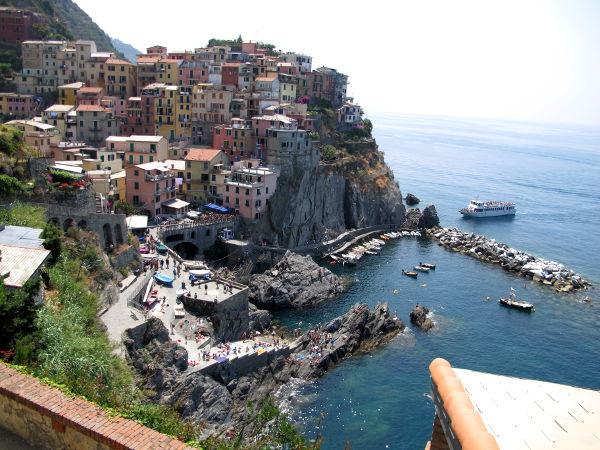 Manarola, oikein nätti Cinque Terren kylä.