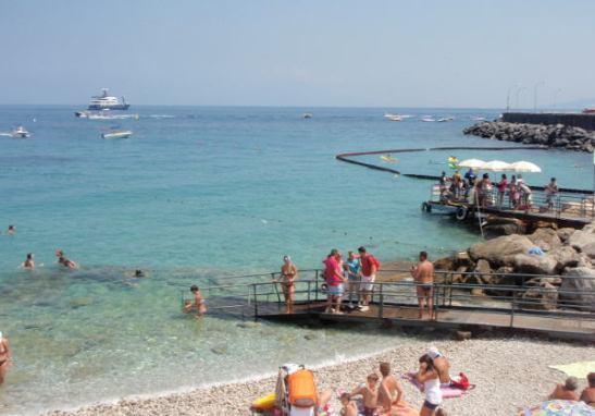 Gran Marinan uimaranta.
