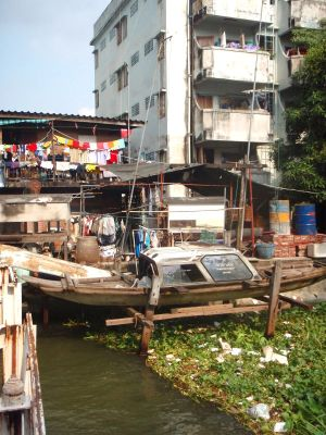 Pidän ränsistyneestä Bangkokistakin.