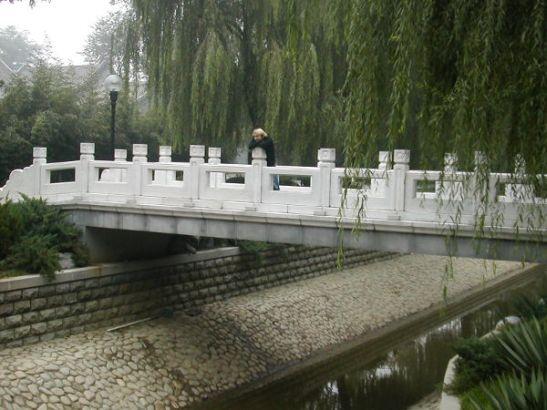 Hieno silta Pekingissä.