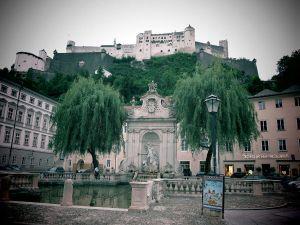 Salzburg oli melkoinen kaikkien muiden vanhojen kaupunkien joukossakin.