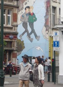 turistit brysselissä