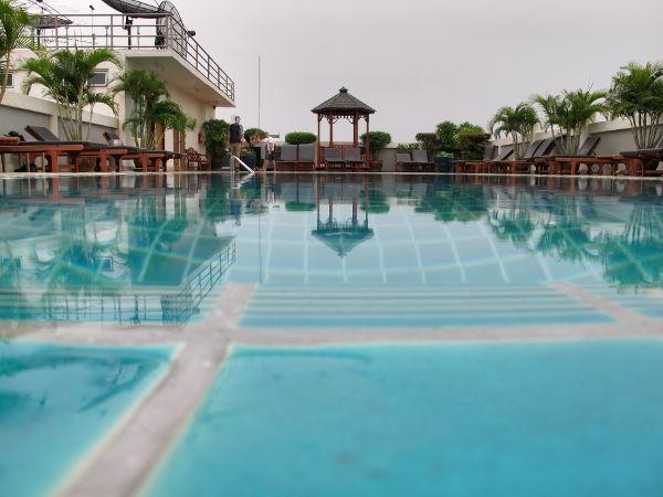Uima-allas Bangkokissa.