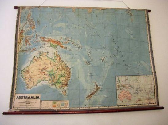 Tätä vanhaa koulukarttaa olen tuijotellut ehkä 10 vuotta ainakin. Kartan alueella olen käynyt, mutta lisää olisi koettava.