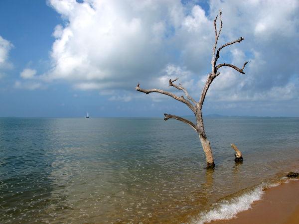 Jomtieniltä sai nättejäkin kuvia, jotka eivät kuitenkaan ihan vastaa sitä mitä ranta oikeasti oli.