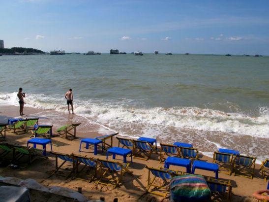 Pattayan rantaa.